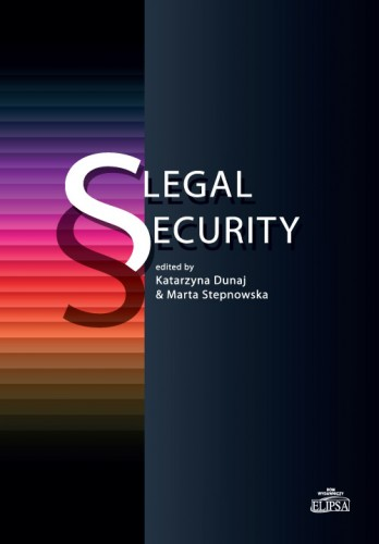 Legal Security - okładka